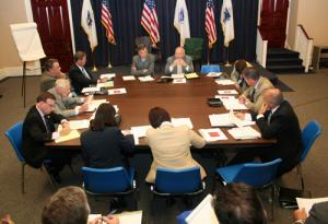 PENSION DISABILITY COMMISSION CONVENES